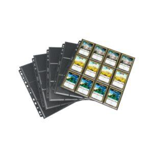 24-Pocket Sideloading Pages Pack Black (10)