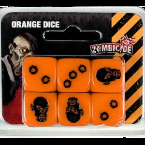 Dados Zombicide Naranja