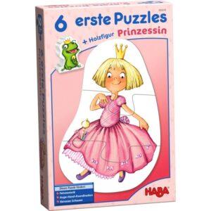 6 PRIMEROS PUZZLES – PRINCESA (CASTELLANO)