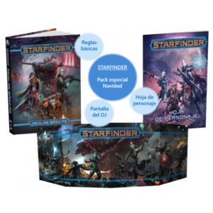 STARFINDER: PACK ESPECIAL NAVIDAD 2020-2021 STARFINDER